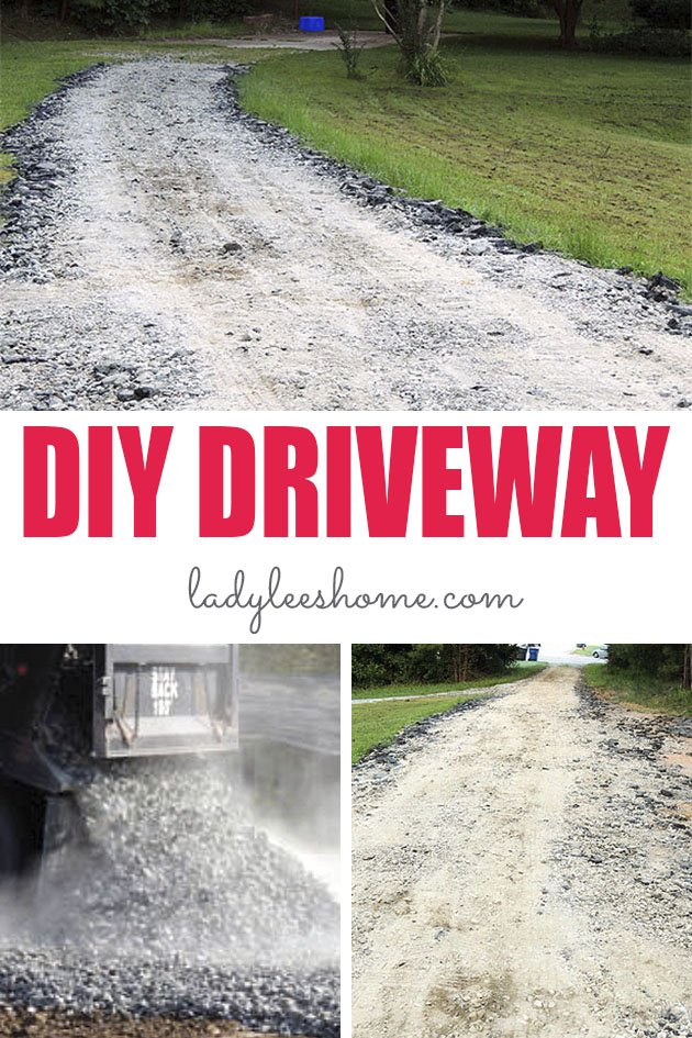This is the cheapest way to pave a driveway. We used recycled materials to cut the cost of paving a long driveway. Let me give you a few ideas for using alternative materials to pave a driveway. #howtopaveadriveway #cheapestdriveway #drivewaypaving #diydriveway