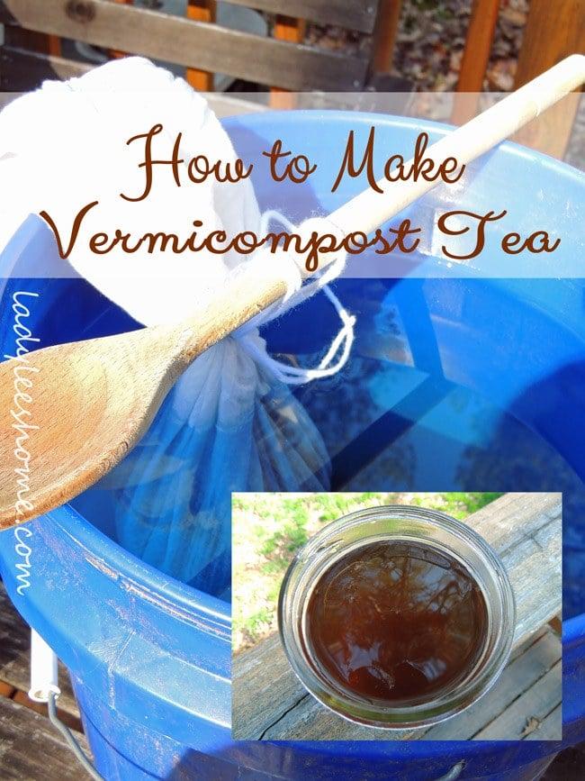 how-to-make-vermicompost -tea