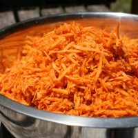 How to Freeze Shredded Carrots