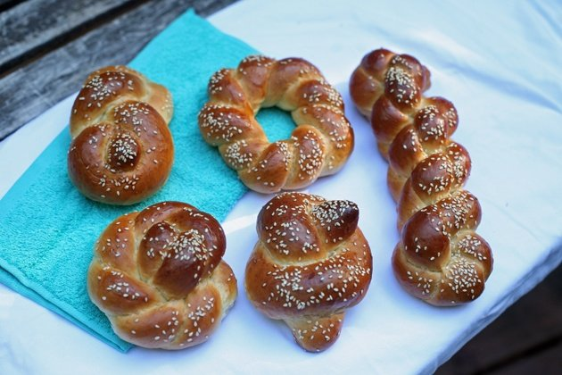 Fabulous 5 Ways To Braid Challah Bread And A Recipe Lady Lee39S Home Short Hairstyles For Black Women Fulllsitofus