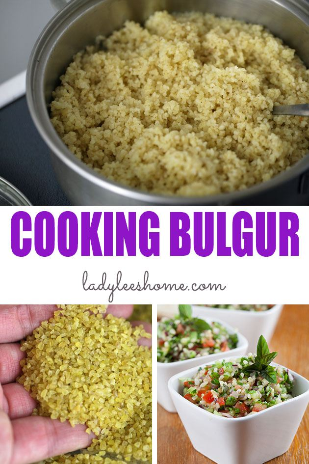 Bulgur is healthy whole wheat grain. It's easy to cook and can be used in many different ways. Here is how to cook bulgur wheat and how to use it. #howtocookbulgurwheat #bulgurrecipes #bulgur #cookingbulgur