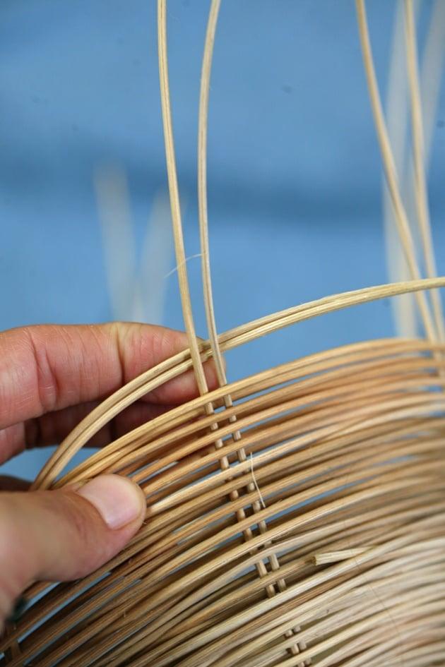 Weaving a Simple Basket