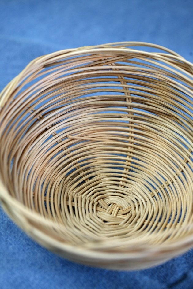 Reed Basket Weaving