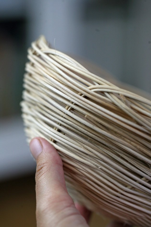 Finished project - How to weave a Basket