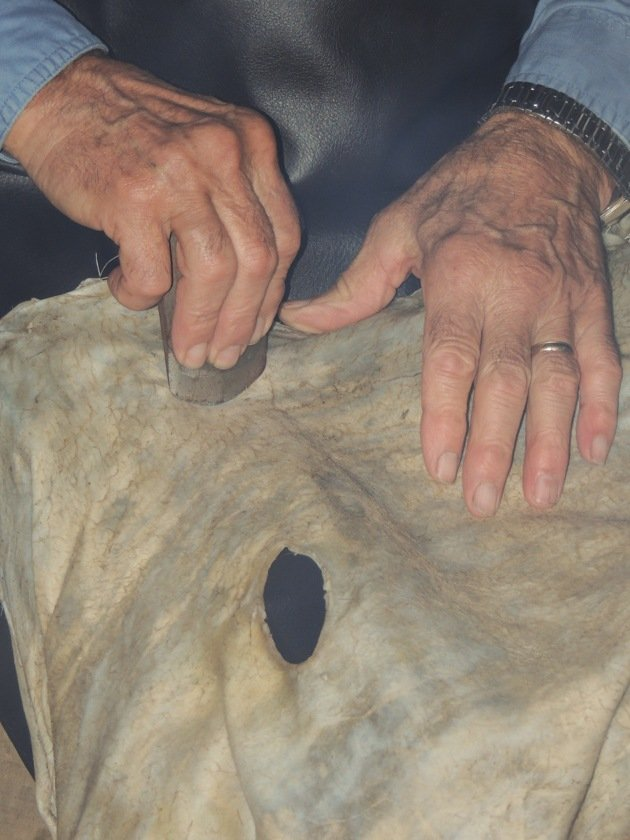 Join me for a step by step picture tutorial on how to tan deer hide. Let me show you the traditional method of turning deerskin into workable buckskin.