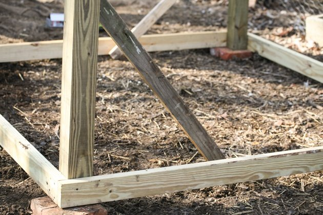 How to build a chicken coop using pallet wood. I used free pallet wood and salvaged some other materials in order to build this coop. This made it possible for me to keep the cost down at $150.