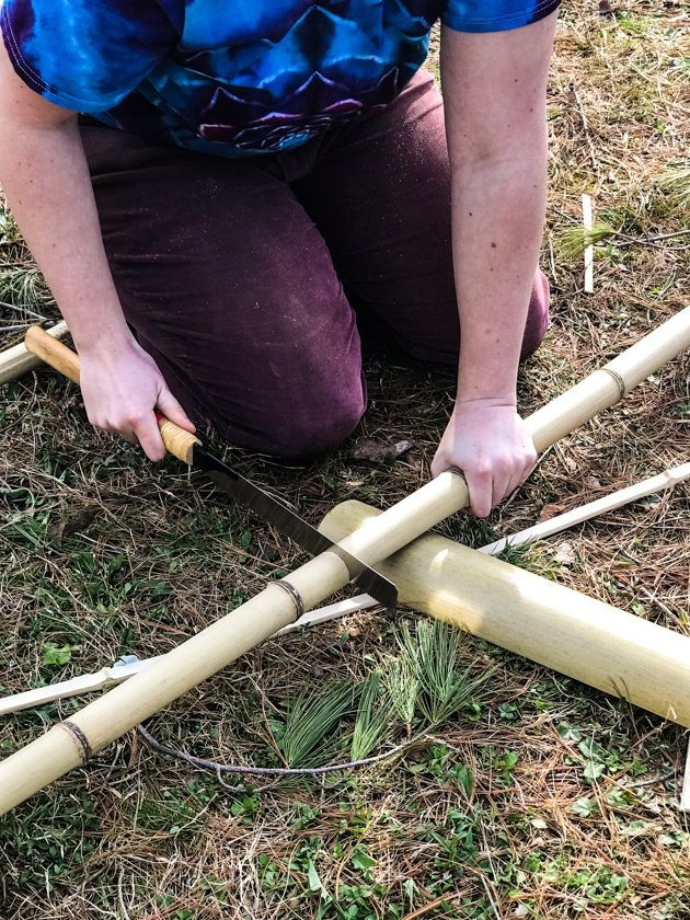DIY Bamboo Screening. Let's learn about bamboo! It's an amazing plant that can be used for fencing and screening. Learn how to build a bamboo screen or a bamboo fence.