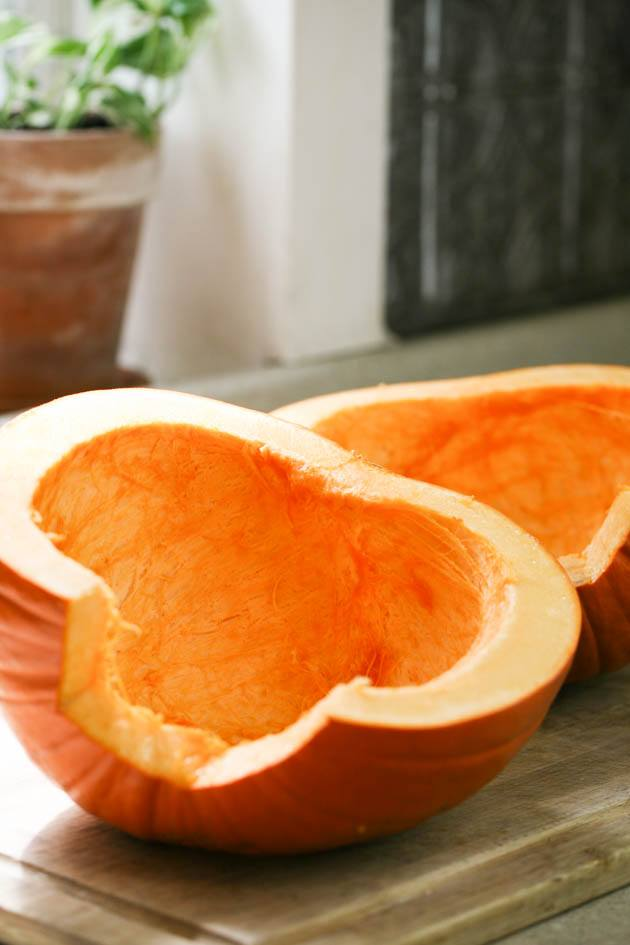 Canning pumpkin at home is not as hard as you might think! Yes, you do need to use a pressure canner but really, it's not a big deal. Let me show you step-by-step how to can pumpkin at home so you can enjoy it year round! #howtocanpumpkin #canningpumpkin #pumpkinrecipes #pumpkinpreserving #thanksgivingpumpkinrecipes #foodpreservation #canning #howtocan