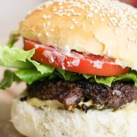 Ground Venison Burgers From Scratch