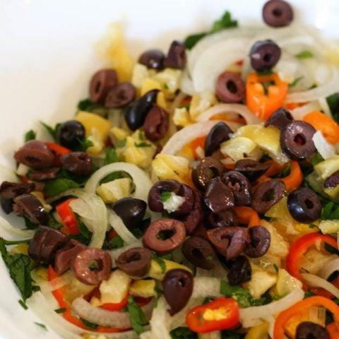 Healthy Mediterranean Egg Salad Recipe