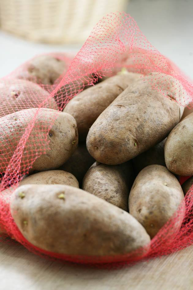 A sack of potatoes