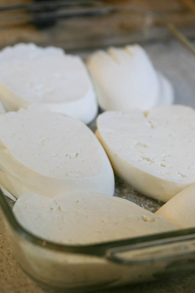 Homemade feta cheese is easier to make than you think! In this step by step picture tutorial, I'll show you how to make a large batch of feta cheese...