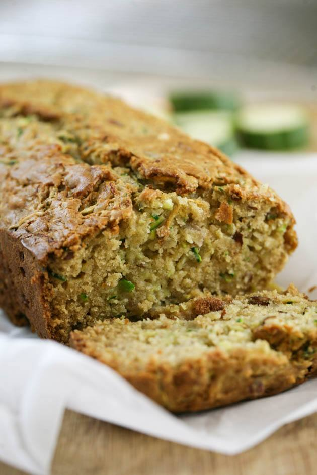 Low sugar zucchini bread recipe