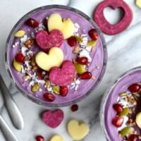Purple Sweet Potato Pudding