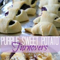 Purple Sweet Potato Turnovers Recipe