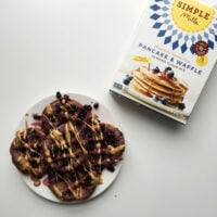 Simple Mills Purple Sweet Potato Waffles