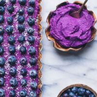 Purple Sweet Potato Tart