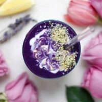 Lavender Purple Sweet Potato Anti-Stress Smoothie