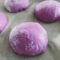 Purple Sweet Potato Super-Soft Rolls