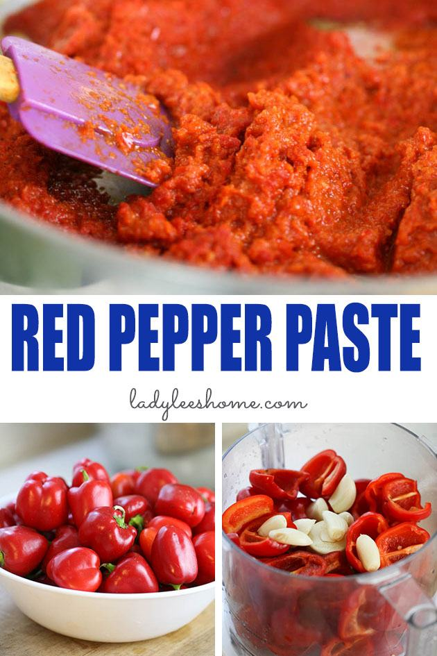 How to Make Red Pepper Paste