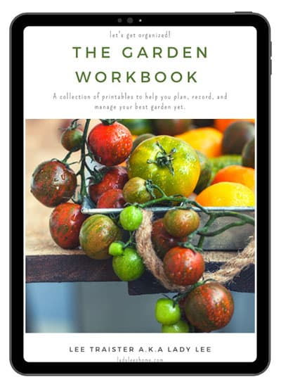 Garden Workbook Cover