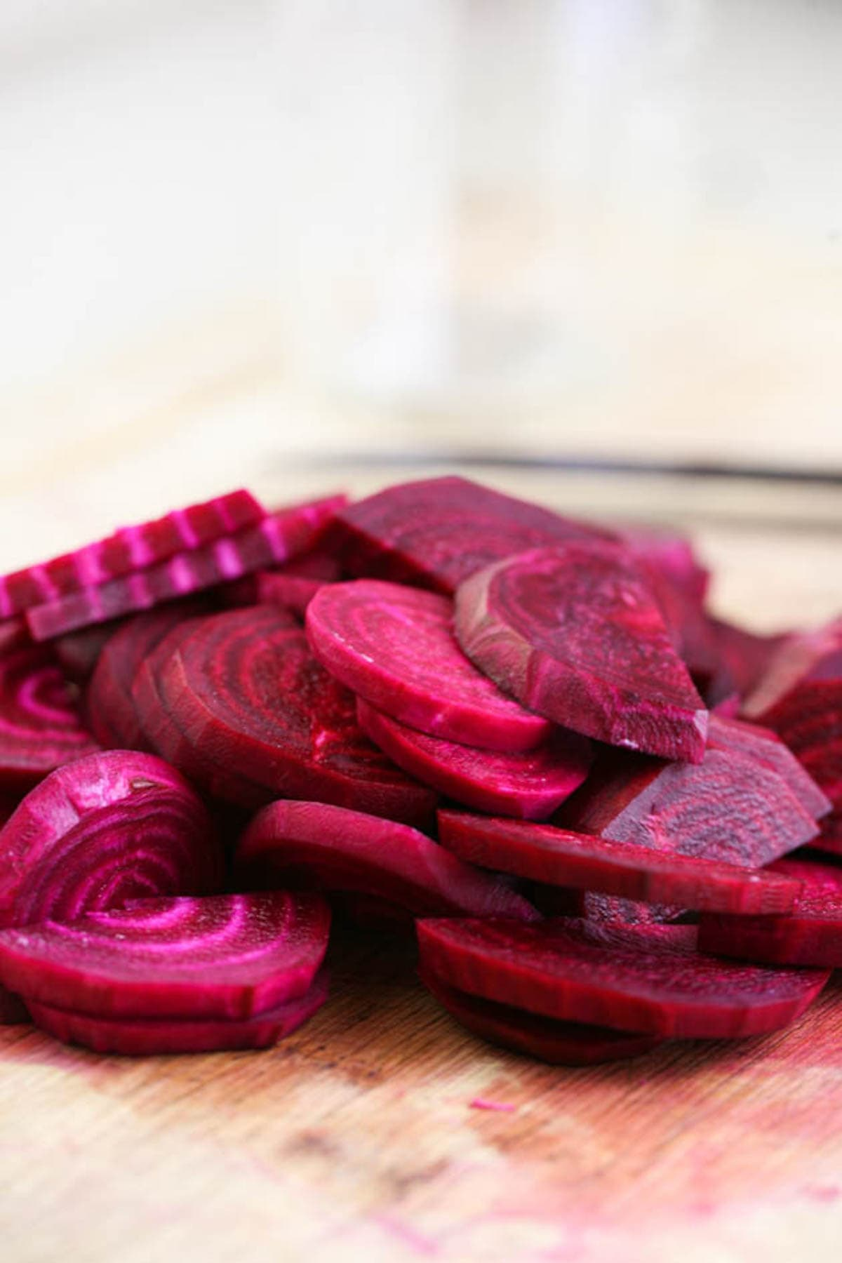 Slicing the beets