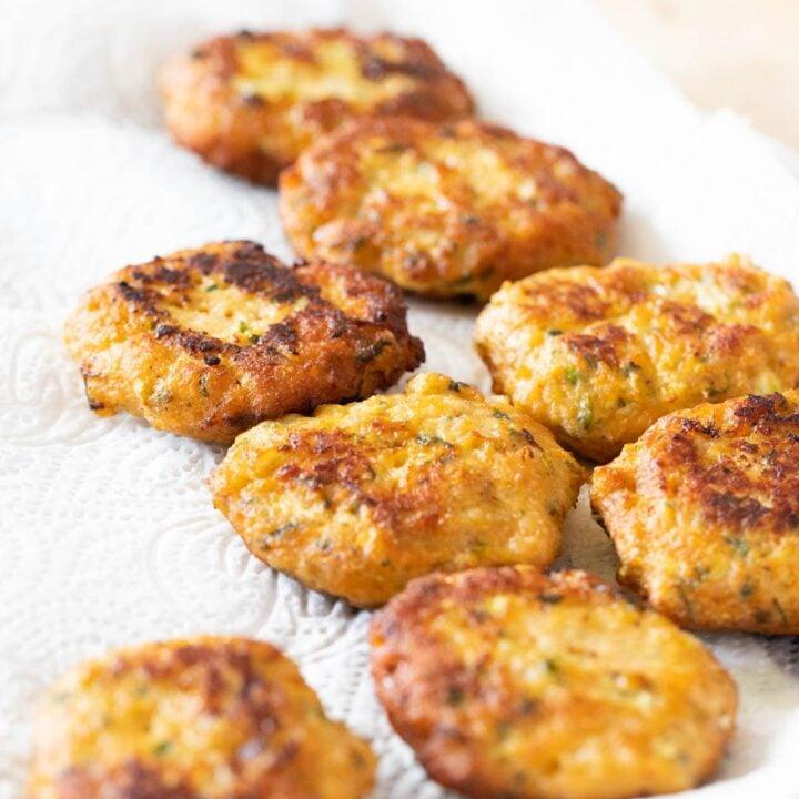 Fried Chicken Meatballs